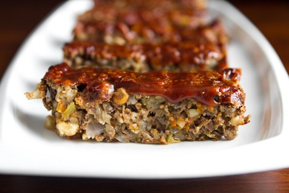 Lentil Loaf 2 3 thumb   Vegan Holiday Recipes + My Tips For Navigating the Holidays as a Vegan