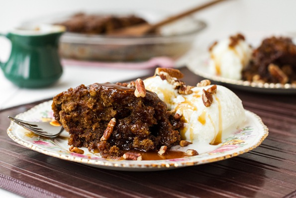 Sticky toffee pudding vegan-5597