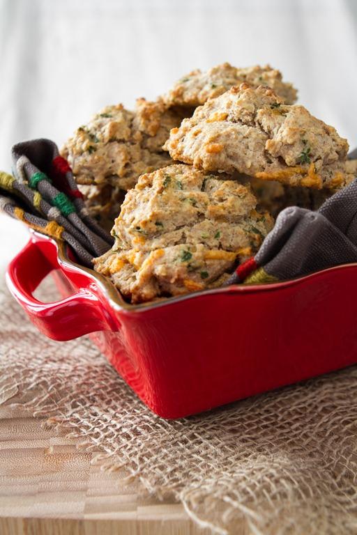 Herb & Cheese Vegan Thanksgiving Biscuit Recipe| Vegan Thanksgiving Recipes Your Kindred Guests Will Love | vegan thanksgiving recipes | vegan thanksgiving stuffing