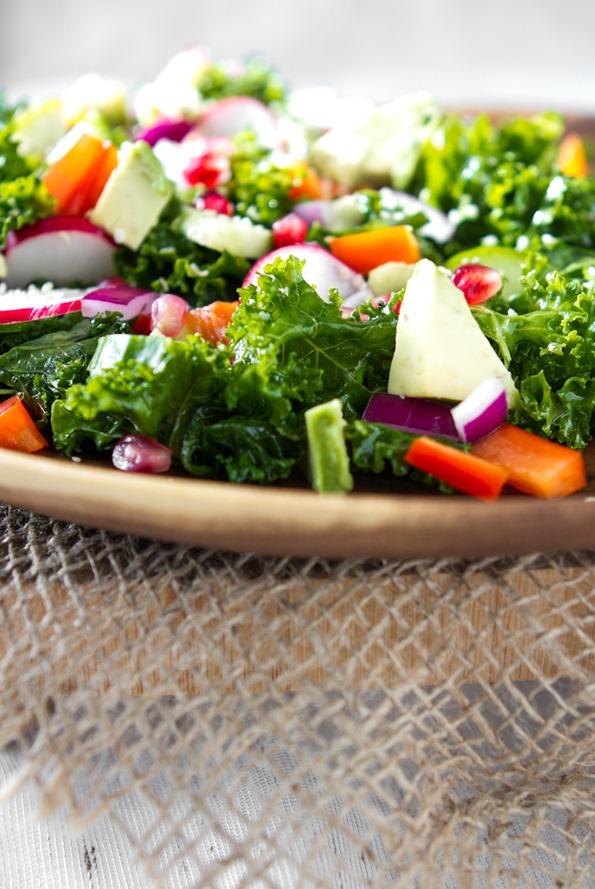 kale salad 7942 thumb   My Go To Kale Salad