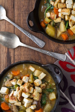 shepher's stew with crispy tofu-7634