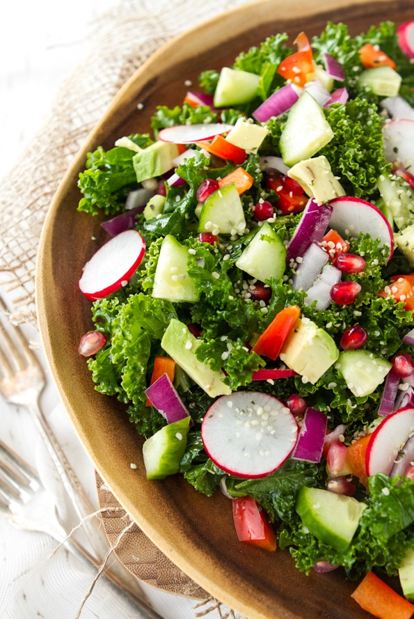 veggies 7950 thumb   My Go To Kale Salad