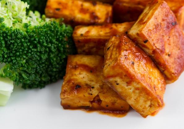 BBQ tofu 0885 thumb   Easy BBQ Tofu