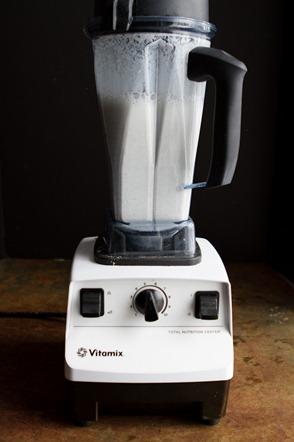 homemade almond milk -0968
