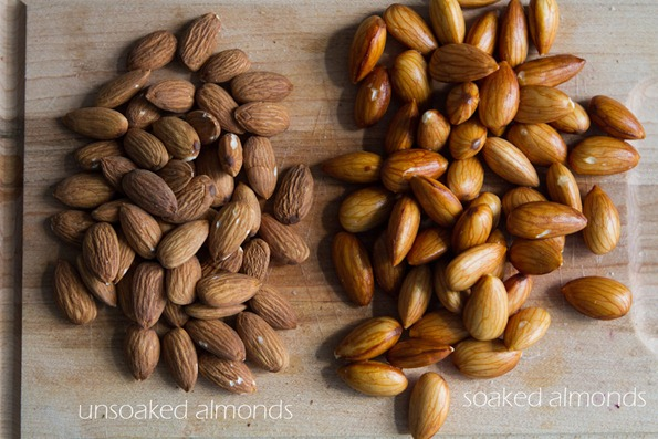 soaked almonds vs dry almonds-4009