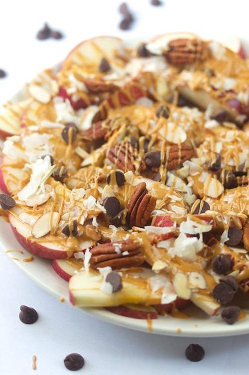 apple nachos 1 manifest vegan thumb   The Big Vegan Super Bowl Recipe Round Up
