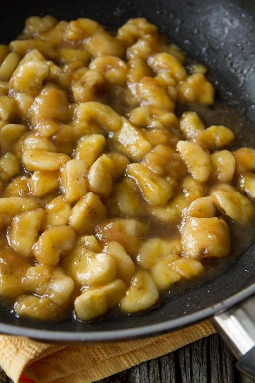 banana foster baked oatmeal 1703 thumb Vegan Bananas Foster Baked ...