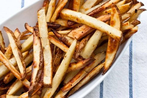 beer soaked fries edibleperspective thumb   The Big Vegan Super Bowl Recipe Round Up