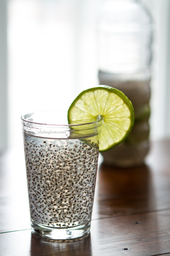 Chia Fresca A Natural Energy Drink Oh She Glows