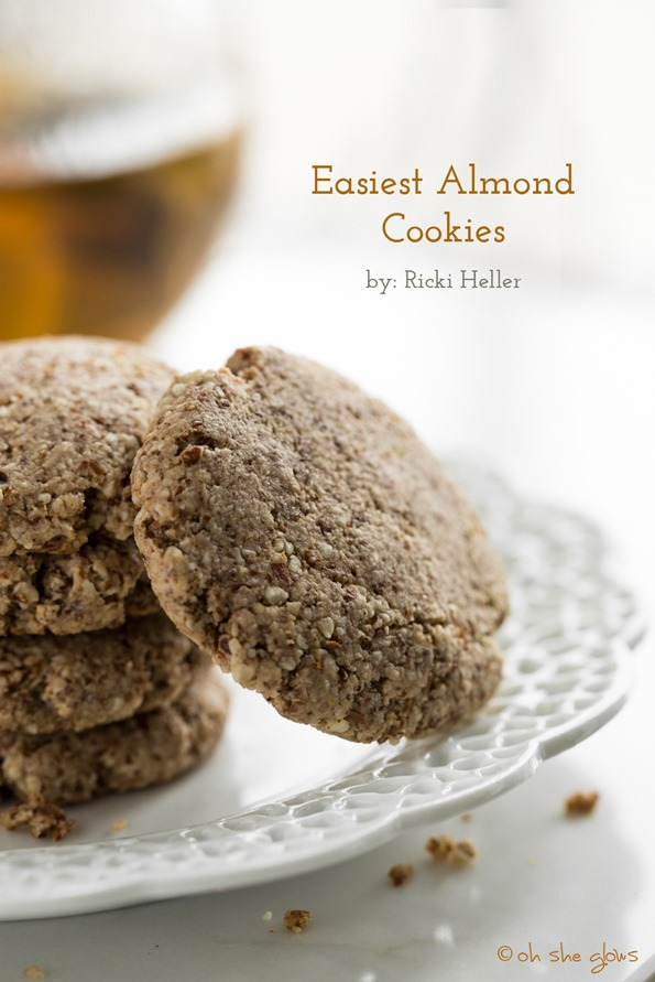 Easiest Almond Cookies + Review of Naturally Sweet & Gluten Free — Oh She Glows