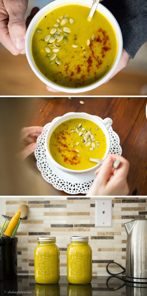 """soup   Luxurious 7 Vegetable and """"Cheese"""" Soup"""