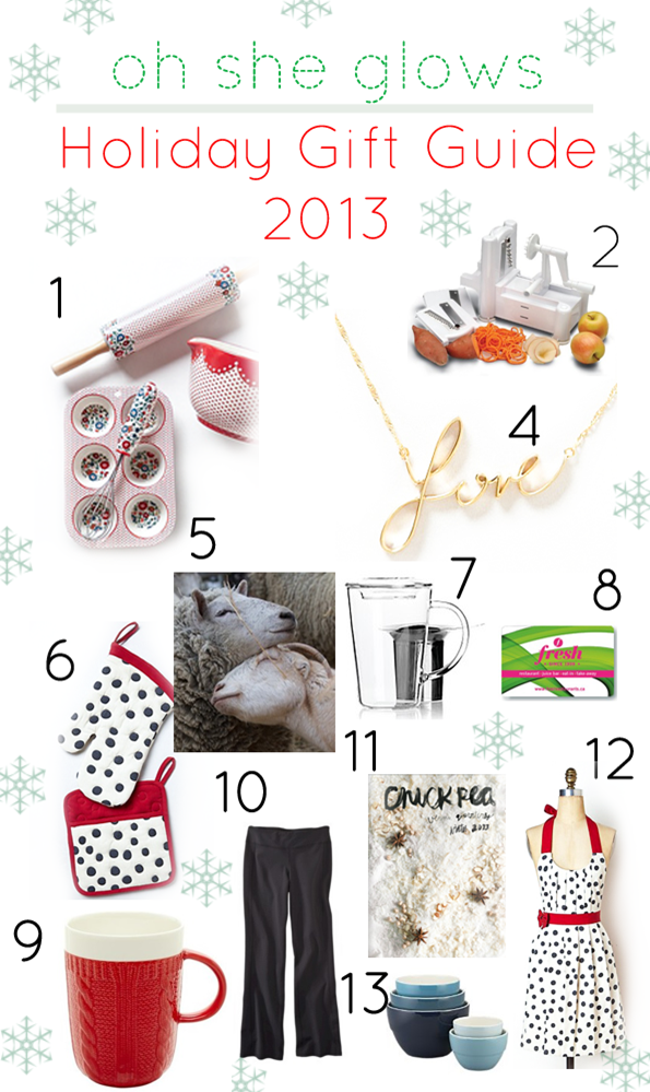 giftguide2   2013 Holiday Gift Guide for the Veggie Lovin' Cook