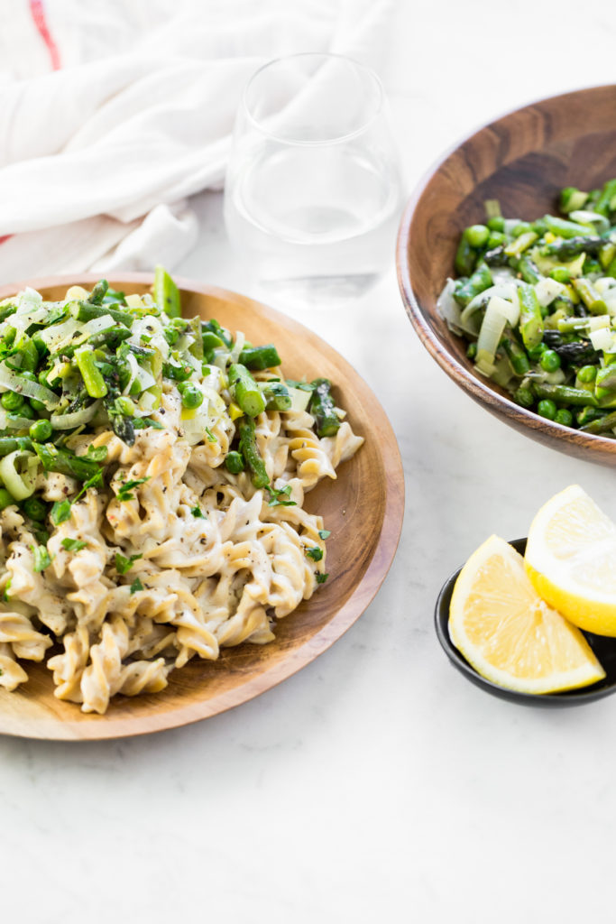 Eric Is In Love With This Creamy Cauliflower Pasta Dish I Mean In Love In Fact He Asked If We Could Make It Together On Valentines Day