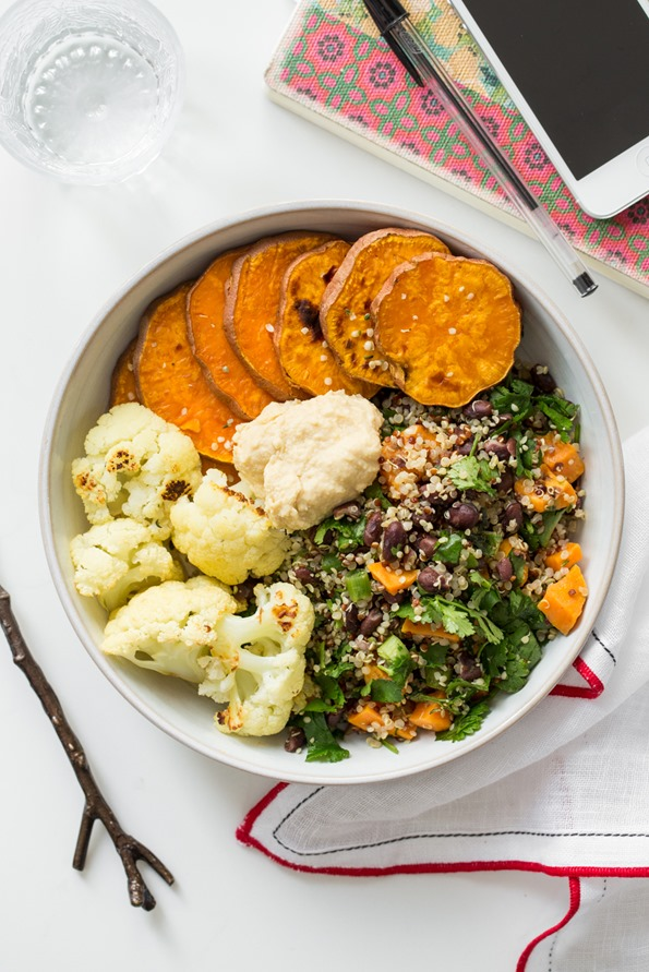 A Feel Good Lunch Bowl — Oh She Glows