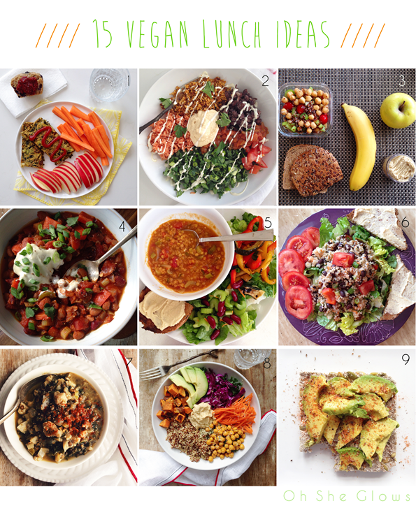 15 vegan lunch ideas oh she glows 2 i aim for lunches that are packed with nutrition to fuel my day and keep my energy high this doesnt always happen but its definitely something i forumfinder Choice Image