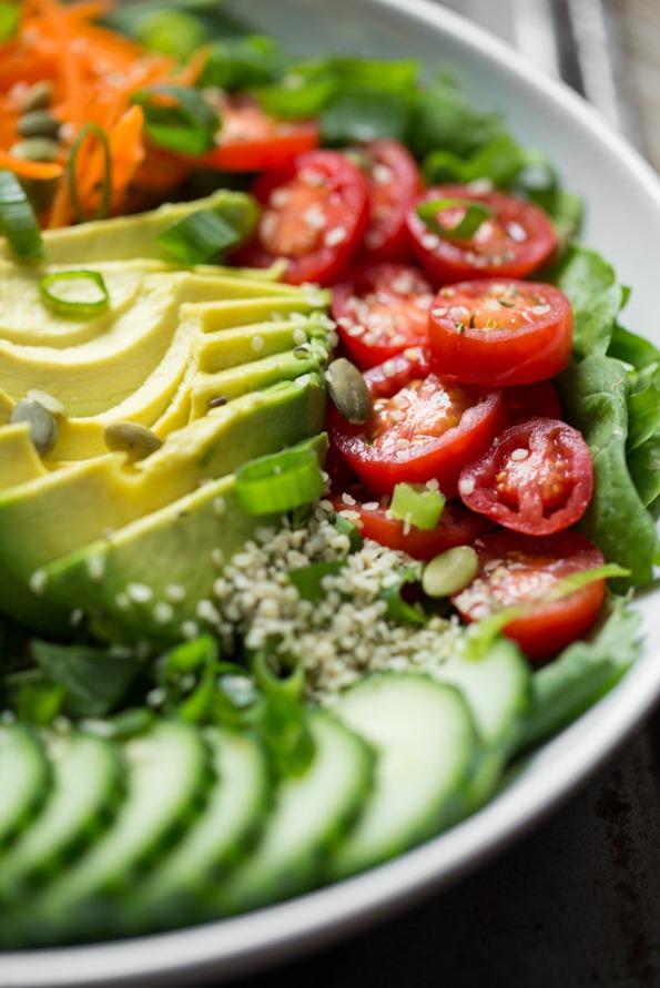 nourishglowsaladbowl 6426   Exciting News! Plus, The Nourish + Glow Miracle Bowl