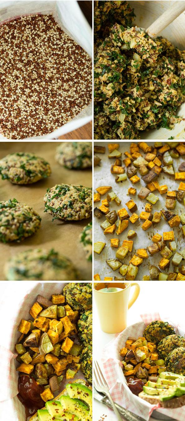 quinoacakes3   Crispy Quinoa Cakes (Vegan, Gluten Free, Nut Free)