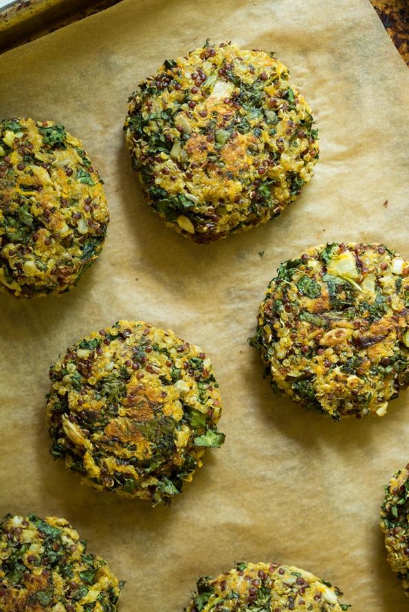 quinoacakesvegan 8649   Crispy Quinoa Cakes (Vegan, Gluten Free, Nut Free)