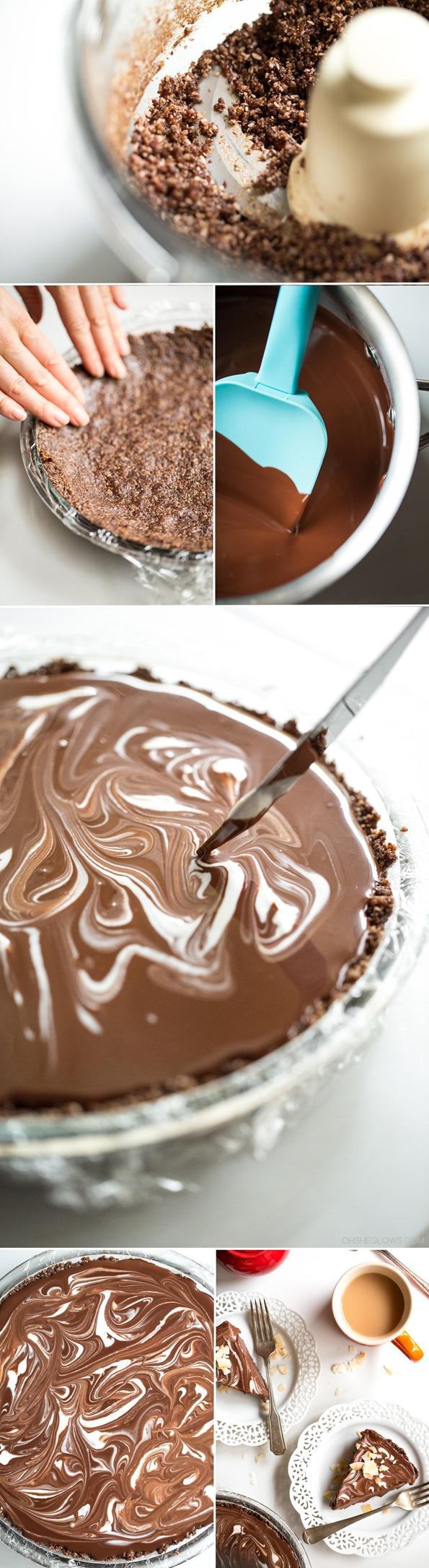 chocolatemacaroontart