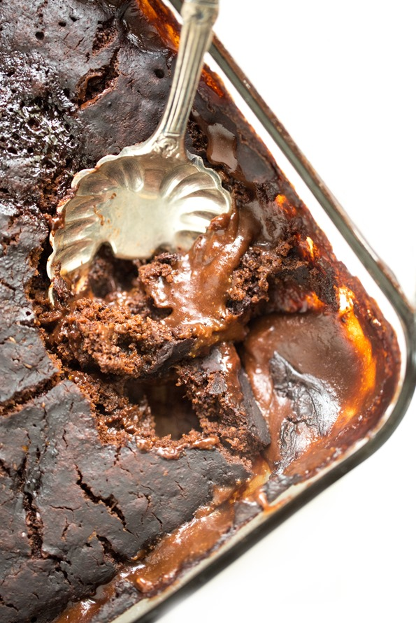 Oh She Glows Chocolate Pudding Cake