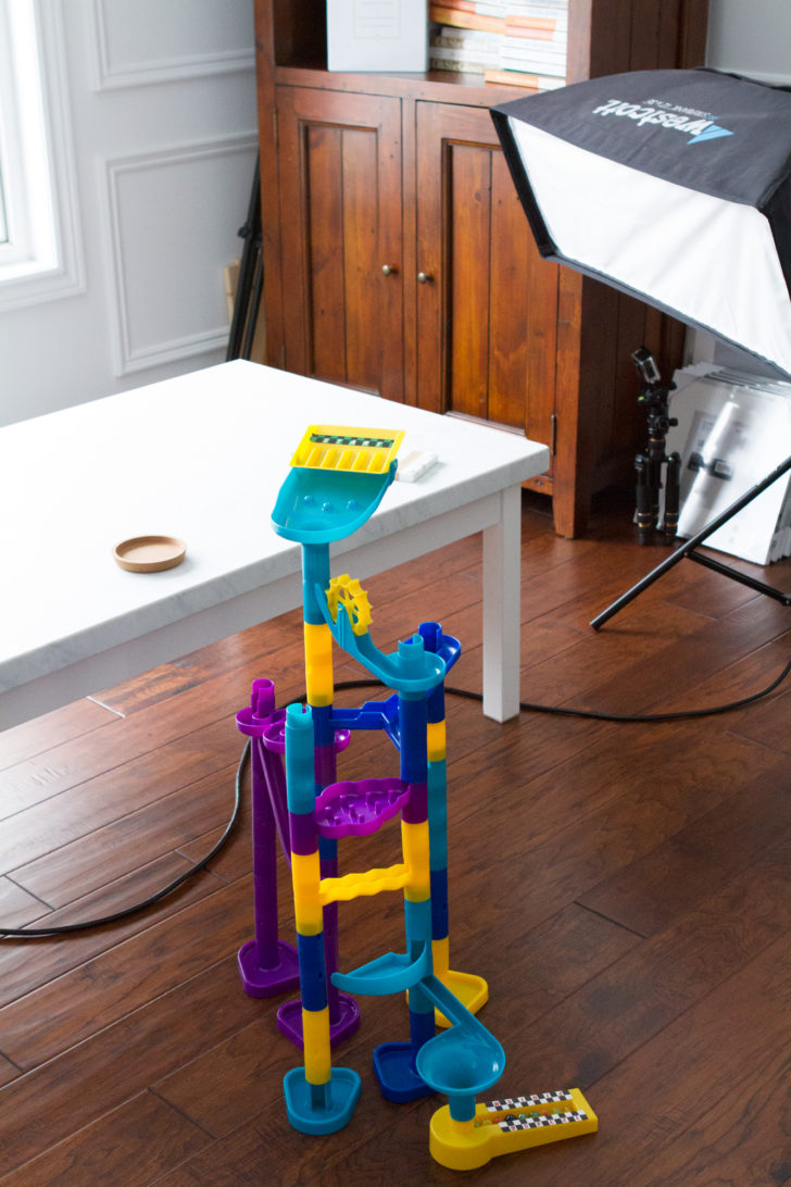 Kids Marble Tower in Photography Studio